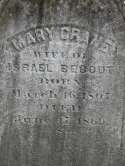 Mary <i>Crane</i> Bebout