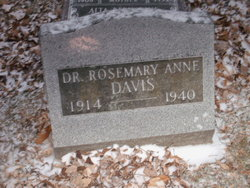 Dr Rosemary Anne <i>Waters</i> Davis