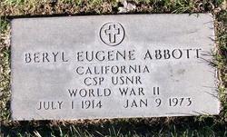 Beryl Eugene Abbott