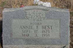 Annie Frances <i>Butler</i> Best