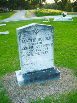 Mattie <i>Holder</i> Duckworth