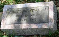 Myra Ethel Mina <i>Young</i> Edwards