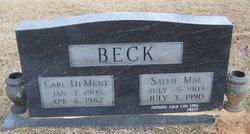 Carl Dement Beck