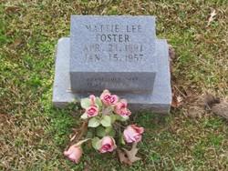 Mattie Lee Foster