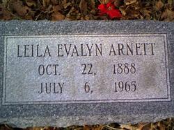 Leila Evalyn Arnett
