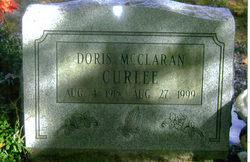 Doris <i>McClaran</i> Curlee