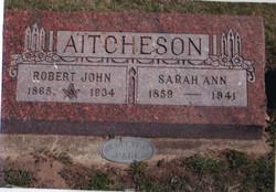 Rev Robert John Aitcheson