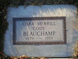 Cora Cody <i>Merrill</i> Beauchamp