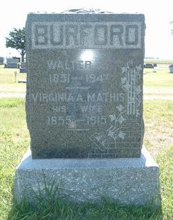 Virginia A. <i>Mathis</i> Burford