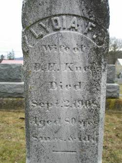 Lydia Frye <i>McKeever</i> Knee