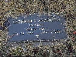 Leonard E Anderson