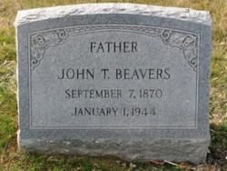 John T Beavers