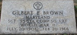 Gilbert F Brown