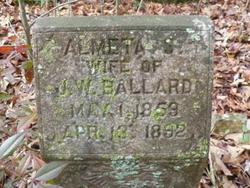 Almeta S Ballard