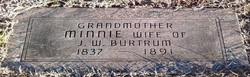 Wilhelmina Minnie <i>Salveater</i> Burtrum