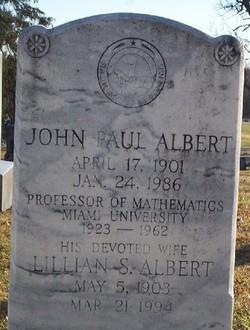 John Paul Albert
