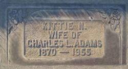 Kittie <i>Nelson</i> Adams