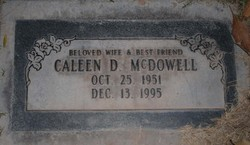 Caleen D <i>Crozier</i> McDowell