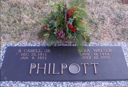 Benjamin Cabel Philpott, Jr