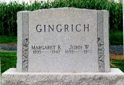 Margaret <i>Knouse</i> Gingrich