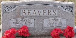 Minnie E <i>Jones</i> Beavers