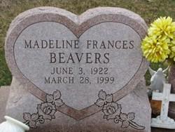 Madeline Frances Beavers