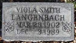 Viola <i>Smith</i> Langenbach