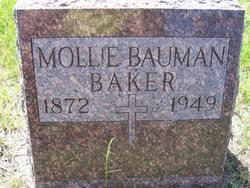 Mollie <i>Bauman</i> Baker