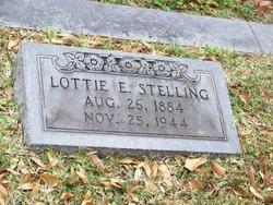 Lottie E Stelling