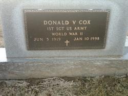 Donald V Cox