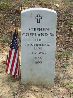 Col Stephen Calvin Copeland, Sr