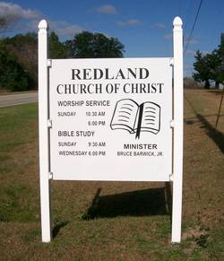Redland Church of Christ Cemetery