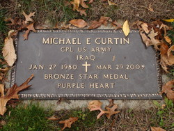 Corp Michael Edward Curtin