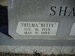 Thelma Betty <i>Womeldorf</i> Shaw