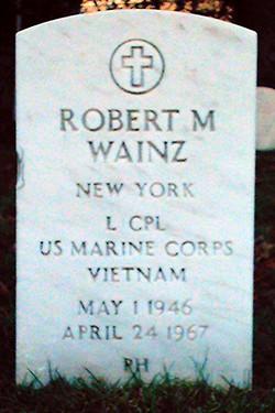 LCpl Robert Michael Wainz