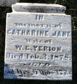 Catherine Jane <i>Patton</i> Yerion