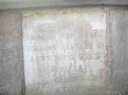 Capt Samuel Wolcott