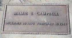 Mamie Ethel <i>Dawson</i> Campbell