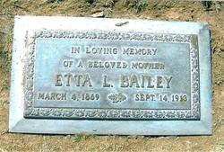 Etta L. <i>Bowers</i> Bailey