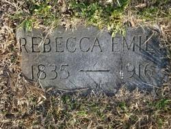 Rebecca Emily <i>Parlier</i> Hendren