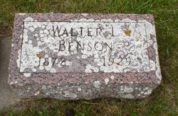 Walter Lafayette Benson