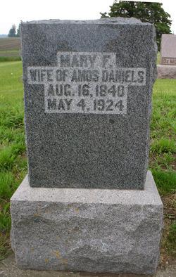 Mary Frances <i>Hammond</i> Tremain Daniels