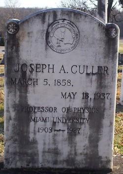 Joseph Albertus Culler