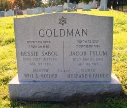 Bessie <i>Sabol</i> Goldman