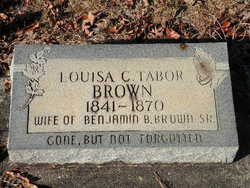 Louisa C <i>Tabor</i> Brown