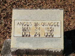 James Angus Jim McQuagge, Sr