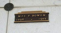 Florence Mae Mae <i>Bean</i> Bowen