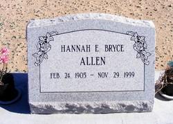 Hannah Ellen Bryce Allen