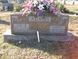 Martha <i>Lindsay</i> Adams