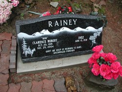 Clarence Robert Old Bob Rainey